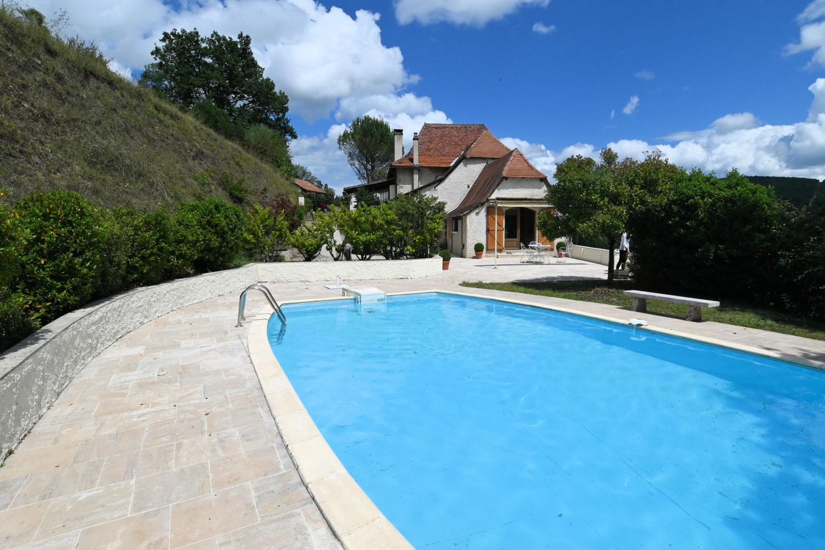 A vendre Proche Cajarc, Maison de caractère 180 m² sur terrain de 6700 m² avec vue