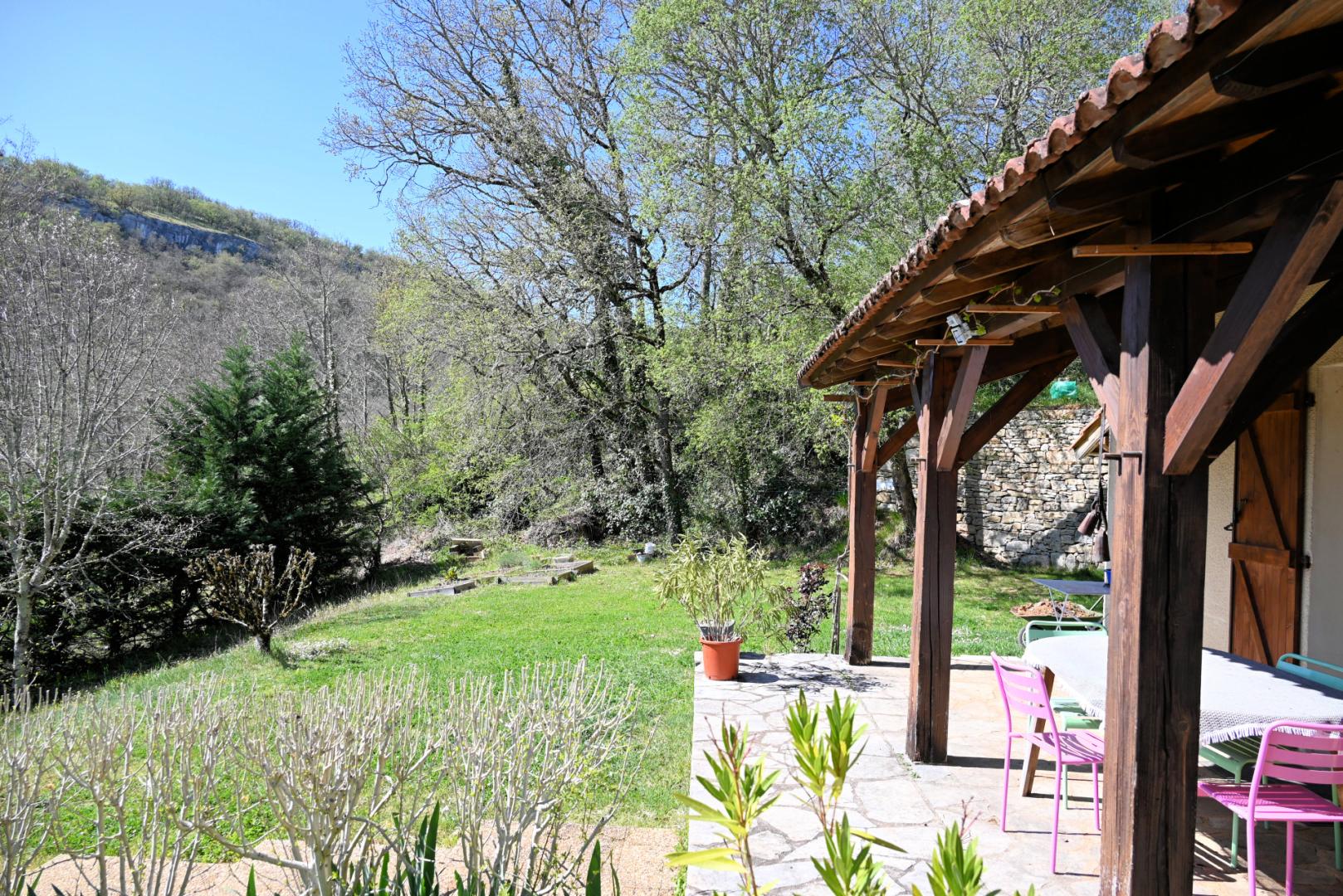 Lot 46 maison 120 m² 4 chambres avec terrain vue vallée Célé