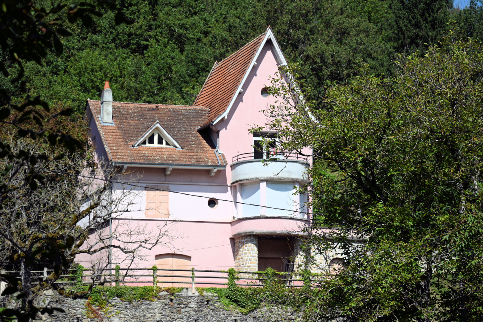 Maison des Années 30 en vallée du Lot (46) avec vue