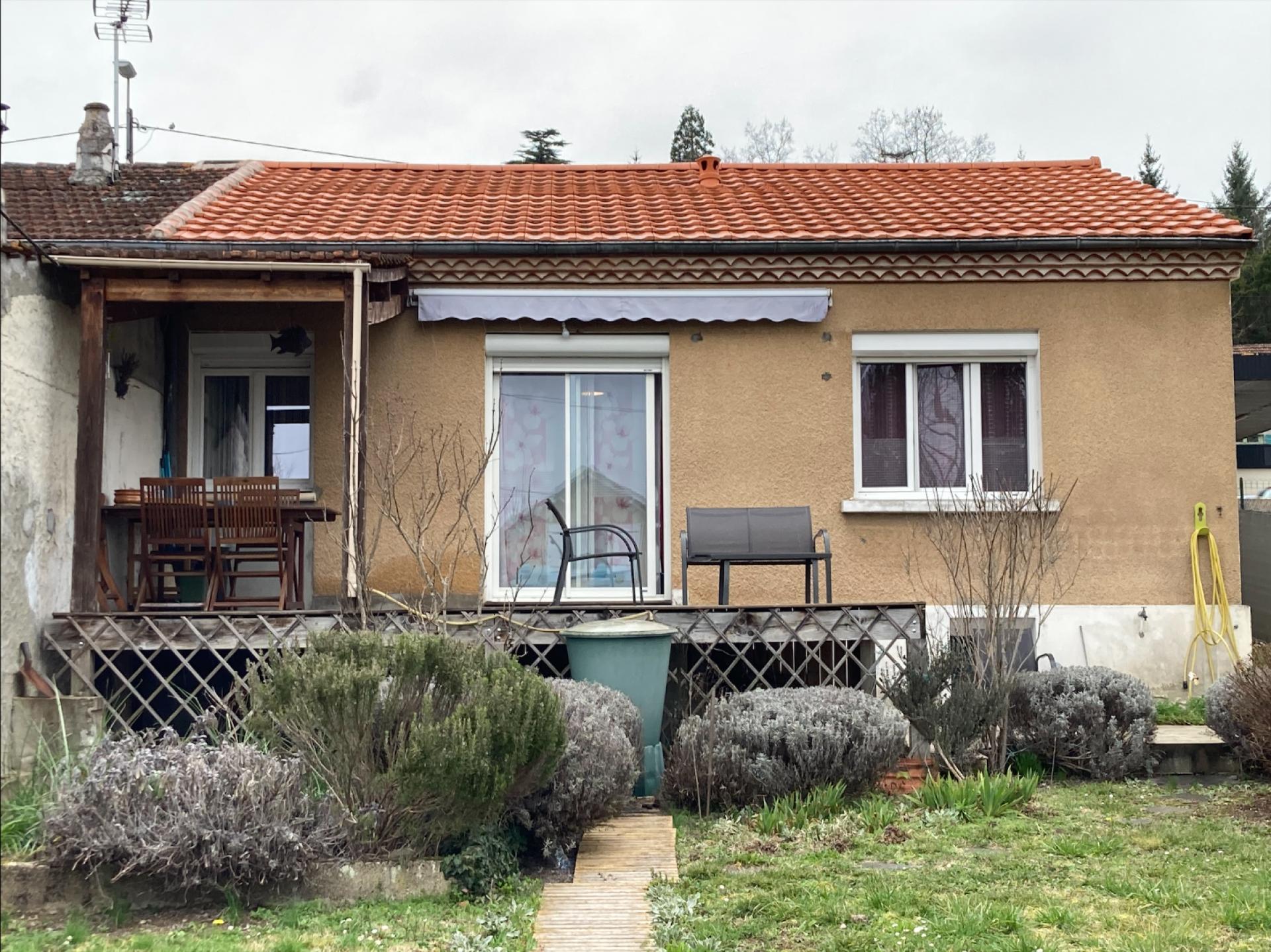 Maison de plain-pied en périphérie de Périgueux entièrement rénovée